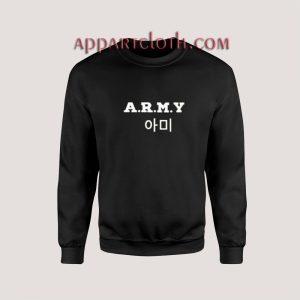 ARMY KPop Unisex Sweatshirts