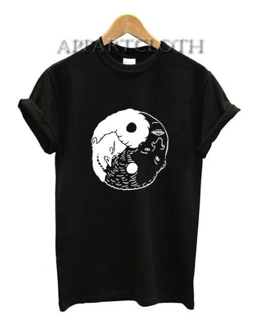 Beavis and Butt Head Yin Yang Funny Shirts