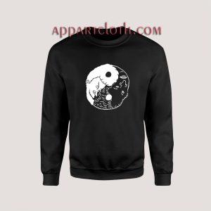 Beavis and Butt Head Yin Yang Unisex Sweatshirts