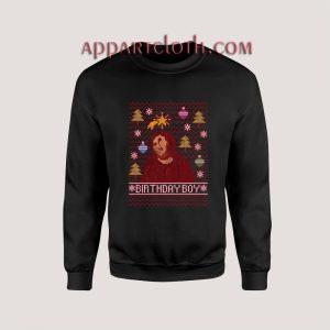 Birthday Boy Christmas Unisex Sweatshirts