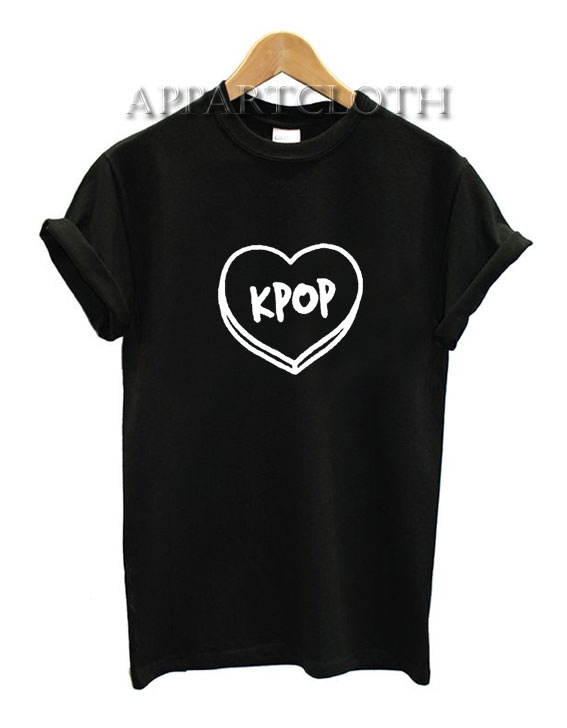 Bts Kpop Heart Funny Shirts