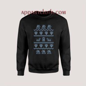 Doctor who ugly christmas Unisex Sweatshirts