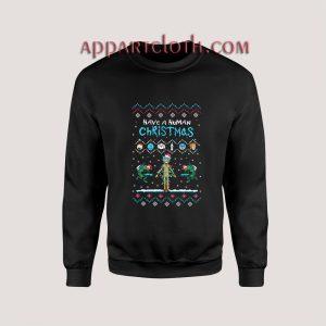 Have a Human Christmas Unisex Sweatshirts