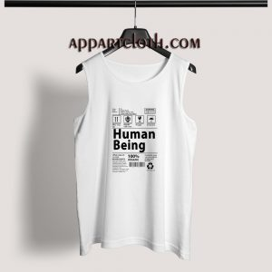 Human Being Adult tank top