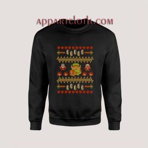 Legend of Zelda Ugly Christmas Unisex Sweatshirts