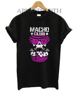 MACHO CLUB Funny Shirts