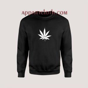 Marijuana Cannabis Leaf Unisex Sweatshirts