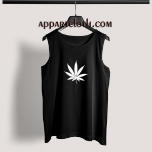 Marijuana Cannabis Leaf Adult tank top