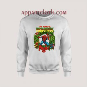 Marvel Super Heroes Christmas Unisex Sweatshirts