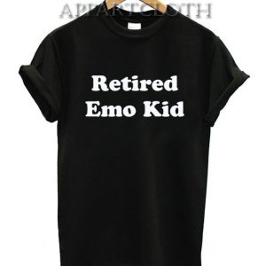 Retired Emo Kid Funny Shirts