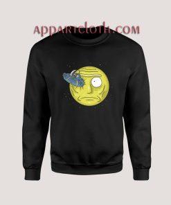 Rick to the Moon Christmas Unisex Sweatshirts