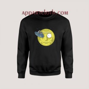 Rick to the Moon Christmas Unisex Sweatshirts
