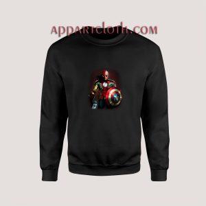 Stan Lee Marvel All Avengers Heroes In One Unisex Sweatshirts