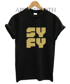 Syfy Symbol Funny Shirts
