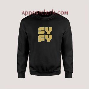 Syfy Symbol Unisex Sweatshirts