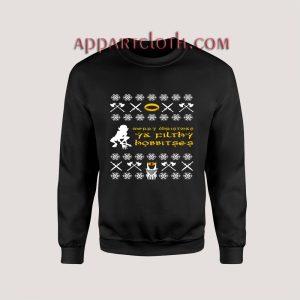 The Hobbit Ugly Christmas Unisex Sweatshirts