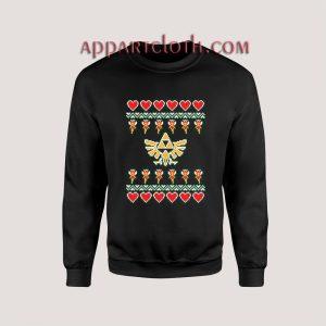 The Legend of Zelda TRIFORCE Ugly Christmas Unisex Sweatshirts