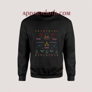 The Legend of Zelda Ugly Christmas Unisex Sweatshirts