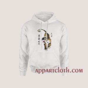 Tiger Chinese Art Hoodies