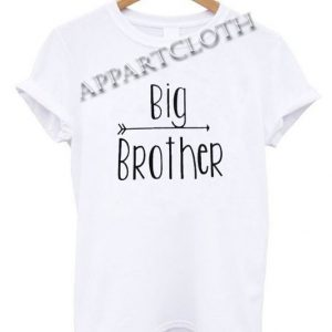 Big Brother Letter Funny Shirts