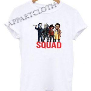 Horror Squad Funny Shirts