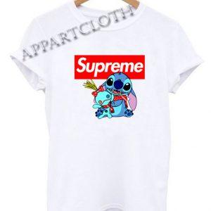 Lilo And Stitch Supreme Funny Shirts