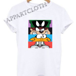 Looney Tunes Characters Funny Shirts