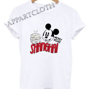 Mickey Mouse Shanghai Funny Shirts