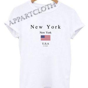 New York USA Funny Shirts