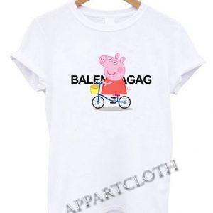 Peppa Pig X Balenciaga Parody Funny Shirts