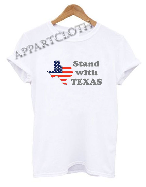 STAND WITH TEXAS Stroke Funny Shirts