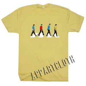 Star Trek Abbey Road Funny Shirts