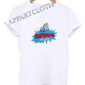Supreme Ganesha Funny Shirts