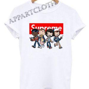 Supreme Stranger Things kids Funny Shirts