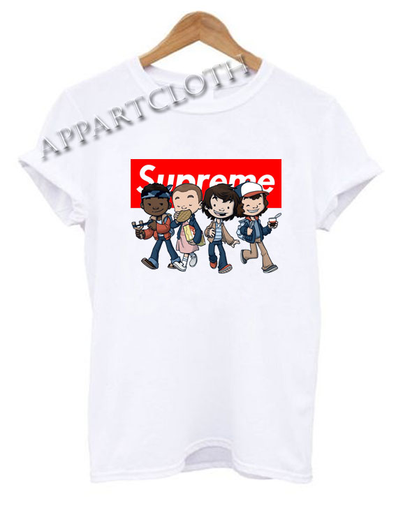 Supreme Stranger Things kids Funny Shirts
