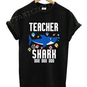 Teacher Shark Doo Doo Doo Funny Shirts