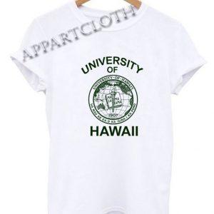 University Of Hawaii Funny Shirts