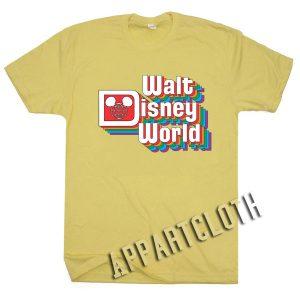 Walt Disney Logo Vintage Funny Shirts