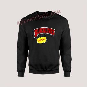 Black lives Matter Backwoods Style Unisex Sweatshirts