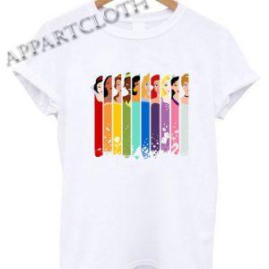 Disney Princess Funny Shirts