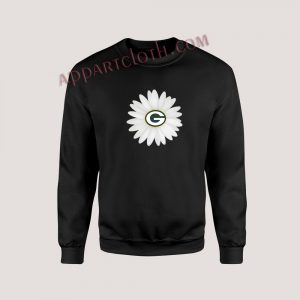 Green Bay Packers Daisy Unisex Sweatshirts