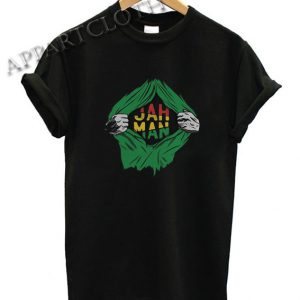 Jah Man Sublimation Funny Shirts