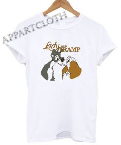 Lady and the tramp Funny Shirts