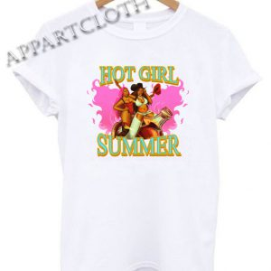 Megan Thee Stallion's Hot Girl Summer Funny Shirts