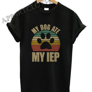 My dog ate my jeep vintage Funny Shirts