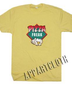 Pizza Freak Kids Funny Shirts