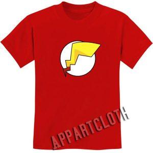 Pokemon Pikachu Flash Funny Shirts