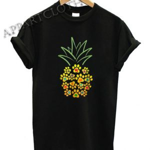Puzzle Paw Pineapple Funny Shirts