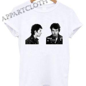 Sid Vicious Mugshot Funny Shirts