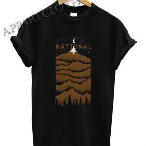 The National Peak Funny Shirts